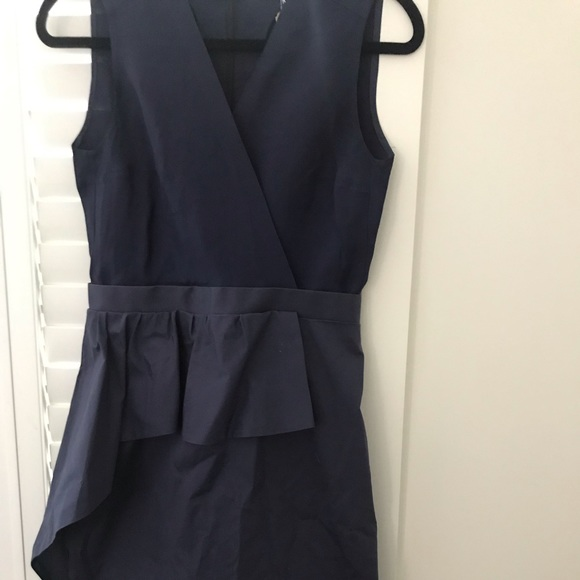 Carven navy cocktail dress